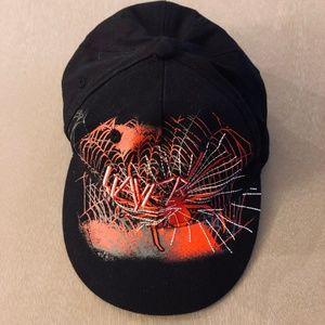 Slayer Black Fitted Baseball Hat Red Spider NWOT!